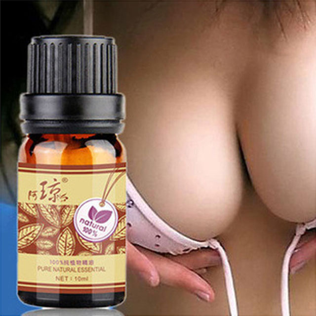 Oil-Cream Massage-Oil Breast-Enlargement Plant Busty Natural Grow-Up 10ml