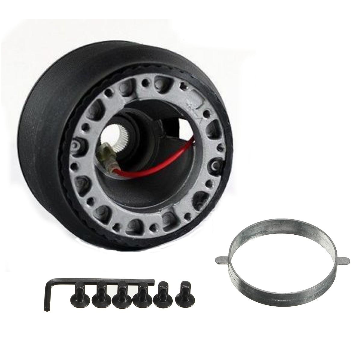 Aluminum 16mm Racing Steering Wheel Boss Kit Hub Adapter FOR Mazda MX5 MX-5