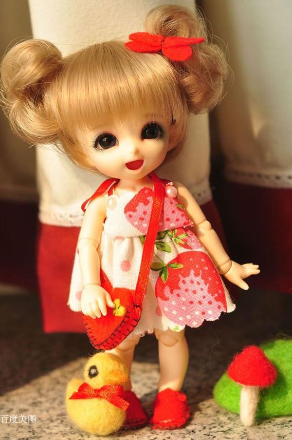 BJD 1/8 Pongpong เด็กทารกตุ๊กตาดวงตาฟรีปาล์มตุ๊กตา HeHeBJD make up-ใน ตุ๊กตา จาก ของเล่นและงานอดิเรก บน   1