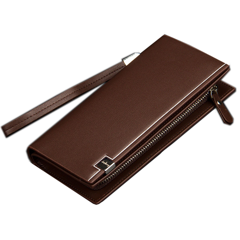 New Business wallet men fashion long wallet cion pocket Clutch purse Casual Zipper phone bag portfolio Designer multi-car purse slimming narrow feet zipper fly special cross print purfle pocket men s casual long pants