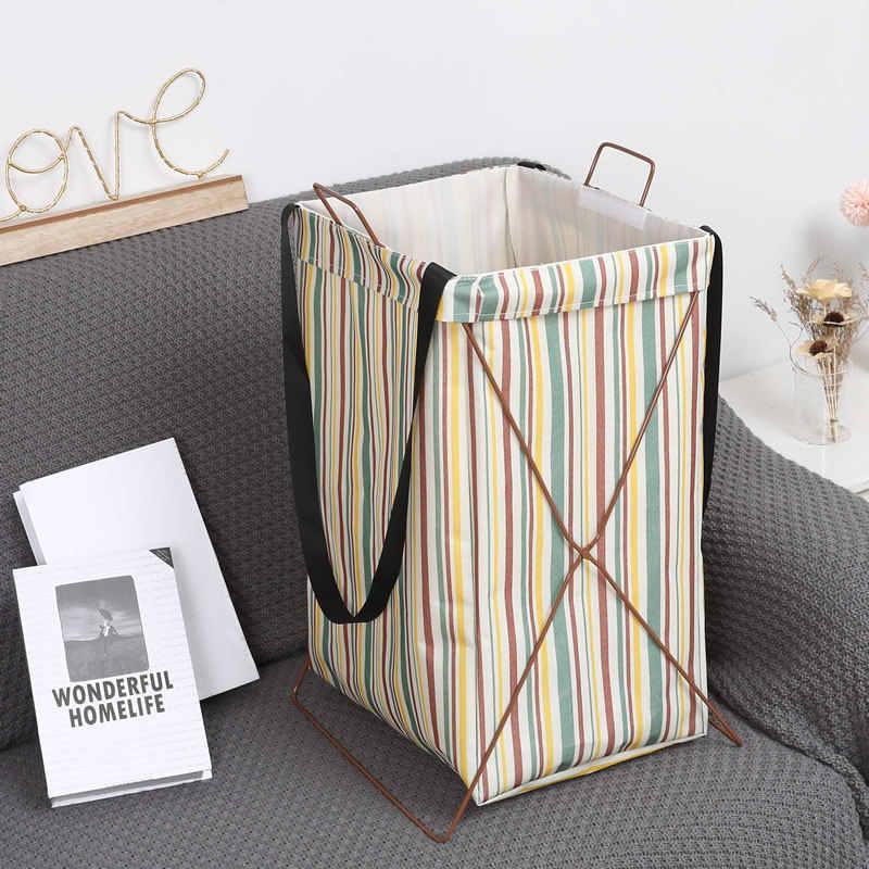 Spielzeug Korb Lagerung Große Hängen Taschen Versand Taschen Wäsche Korb für Schmutzige Kleidung Spielzeug Panier De Rangement En Tissu