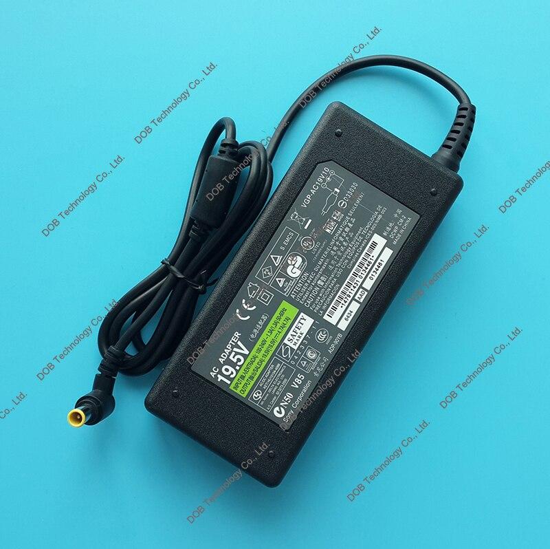 Ноутбук ac Адаптеры питания Зарядное устройство для SONY VGN-cr520e/t pcg-9x5l vgn-cr305e/L/R/RC svs131190x pcg-662r 19.5 В 4.7a 90 Вт