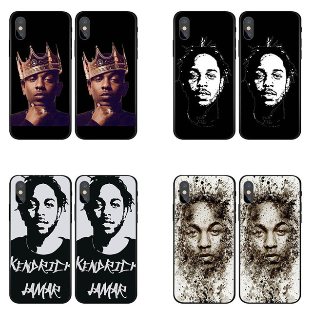 f36c6774e6978 Kendrick Lamar & J Cole painting art Soft Silicone TPU Phone Case For  iPhone 5 5S SE 6 6S Plus 7 7Plus 8 8Plus X 10 Back Cover-in Half-wrapped  Case ...