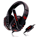 Somic G923 Stereo Surrounded Sound Game Headset Over-Ear Gaming Headphone Headband with Mic Volume Control for Computer PC Gamer