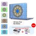 Textura de paisley caso para apple macbook air pro retina 11 12 13 15 del ordenador portátil del bolso del caso Para Macbook Air 13 Pro 13 Retina13 15 caso