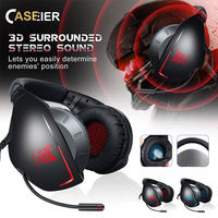 CASEIER Gaming Headset PS4 PC Gamer Stereo Heaedset EarPhones auriculares Gaming Headphoens For Xbox one auriculares con cable