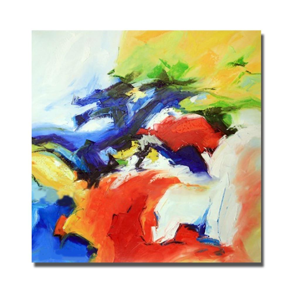 colorido paleta kinfe bonitas pinturas para la decoracin del dormitorio pintura al leo sobre lienzo pintado