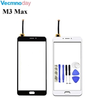 6 0 For Meizu M3 Max Touch Screen Digitizer Glass Panel No LCD Phone Replacement Free