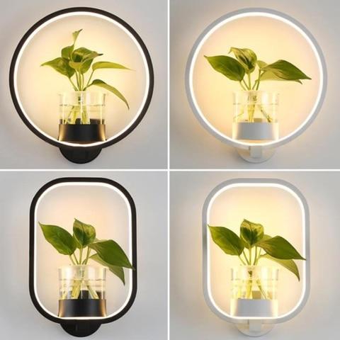 nova moderna lampada de parede led sala estar restaurante escada lampada do corredor estudo quarto