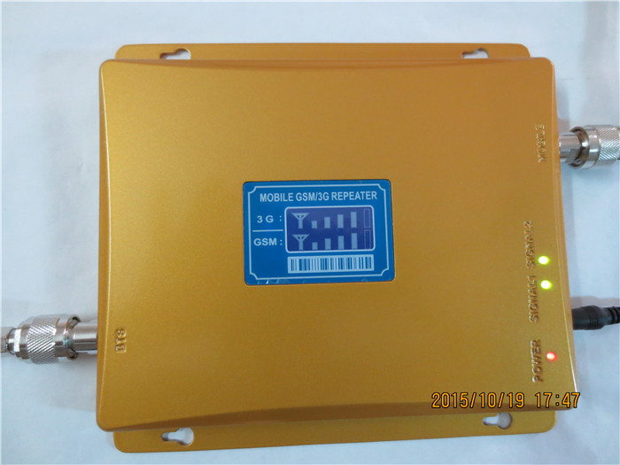 LCD Display ! GSM 900 GSM2100 Cell Phone Signal Booster