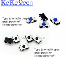 цена на 100PCS 3*6*2.5mm Touch switch 3x6x2.5mm SMD-2 normally open Light touch switch  Micro switch patch button Normally closed switch