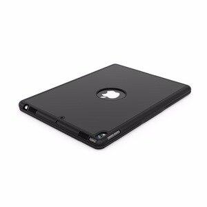 Image 4 - Pokrowiec na iPad Air 3 10.5 2019 Smart Sleep 7 kolorów podświetlany lekki bezprzewodowy pokrowiec na klawiaturę Bluetooth do ipada Pro 10.5