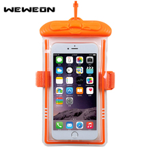 New Outdoor Sea Vacation Universal Waterproof Case Mobile Phone Bags with Strap Dry Pouch Swimming Waterproof Storage Package