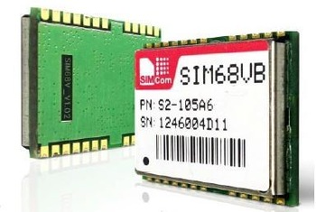 JINYUSHI dla 2 sztuk partia SIM68VB GPS + BD2 moduł 100 nowy oryginalny oryginalny dystrybutor kanał odbiornik GPS darmowa wysyłka w magazynie tanie i dobre opinie Wewnętrzny Zdjęcie wireless