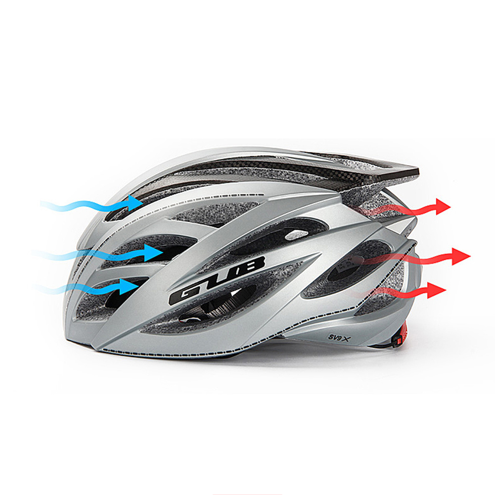 GUB Bicycle Helmet Integrated Carbon Fiber Mountain Road Bike Riding Helmet Riding Hat Cycling Equipment for Men and Women SV9X promend mountain bike riding helmet integrated safety hat road cycling equipment for men and women