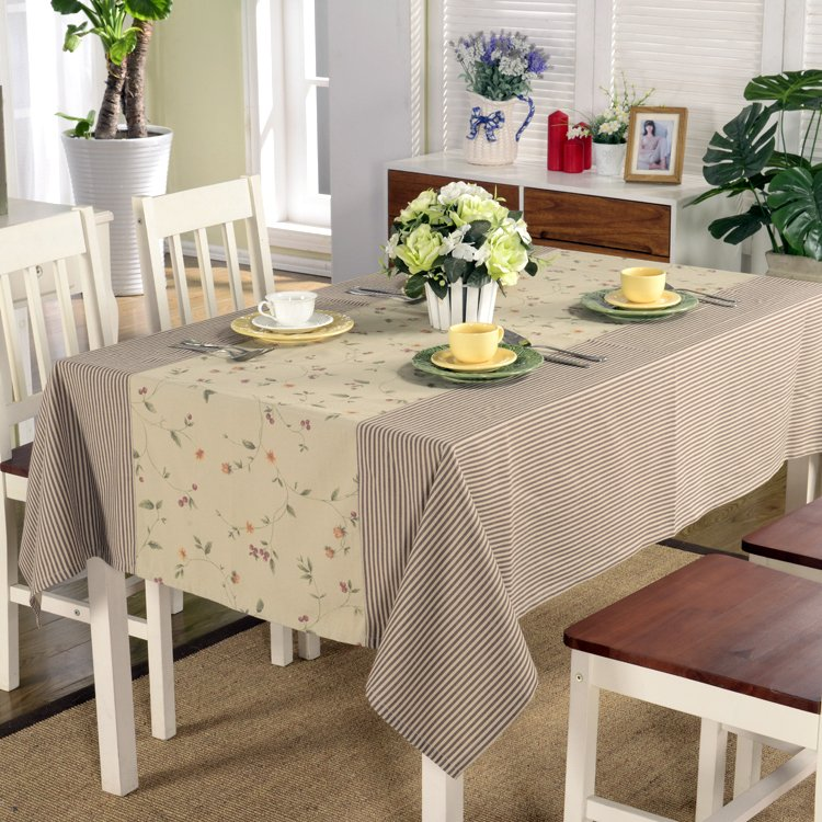 Attractive Tablecloth Brown