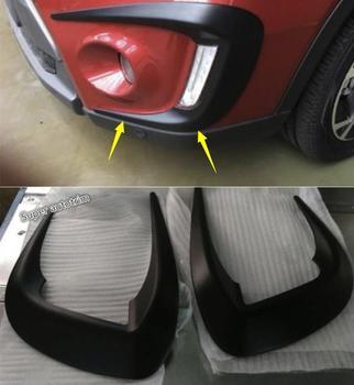 Lapetus Front Head Fog Lamps Lights Eyelid Eyebrow Protection Scuff Cover Trim 2 Pcs Fit For Suzuki Vitara Escudo 2015 - 2018