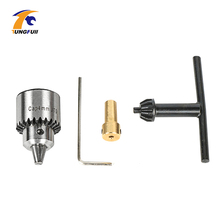 Tungfull Motor Drill Chucks 0.3 4mm Jt0 Taper With Chuck Key 3.17mm Brass Mini Electric Motor Drill Chucks Clamping -in Power Tool Accessories from Tools on Aliexpress.com | Alibaba Group