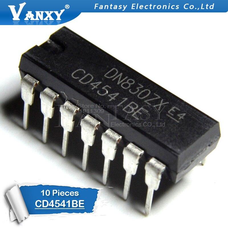 10PCS CD4541BE DIP14 CD4541 DIP 4541BE DIP-14