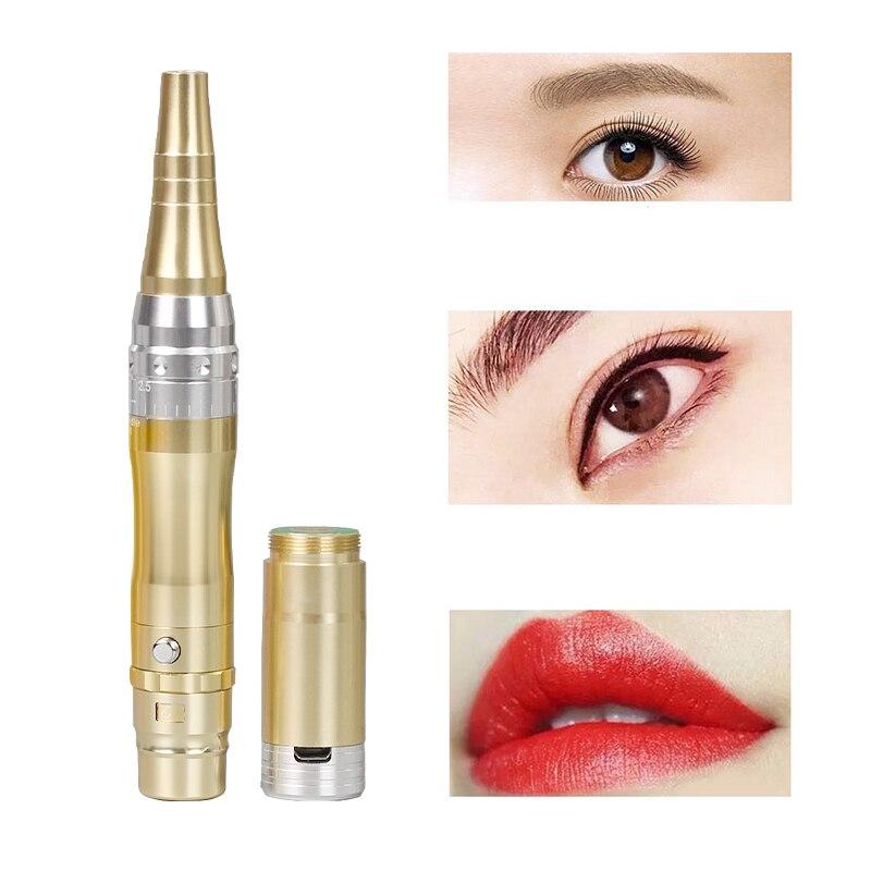 Cartouches professionnelles aiguilles stylo de maquillage batterie Rechargeable maquillage Permanent Machine fournitures de tatouage