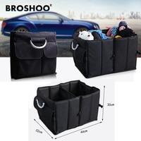 BROSHOO Non Woven Sorting Bags Auto Supplies Car Back Folding Storage Bag Multi Use Tools Organizer