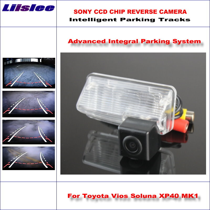 Liislee High Quality Intelligentized Car Parking Rear Reverse Camera For Toyota Vios Soluna XP40 MK1 2002 2007 NTSC PAL RCA in Vehicle Camera from Automobiles Motorcycles