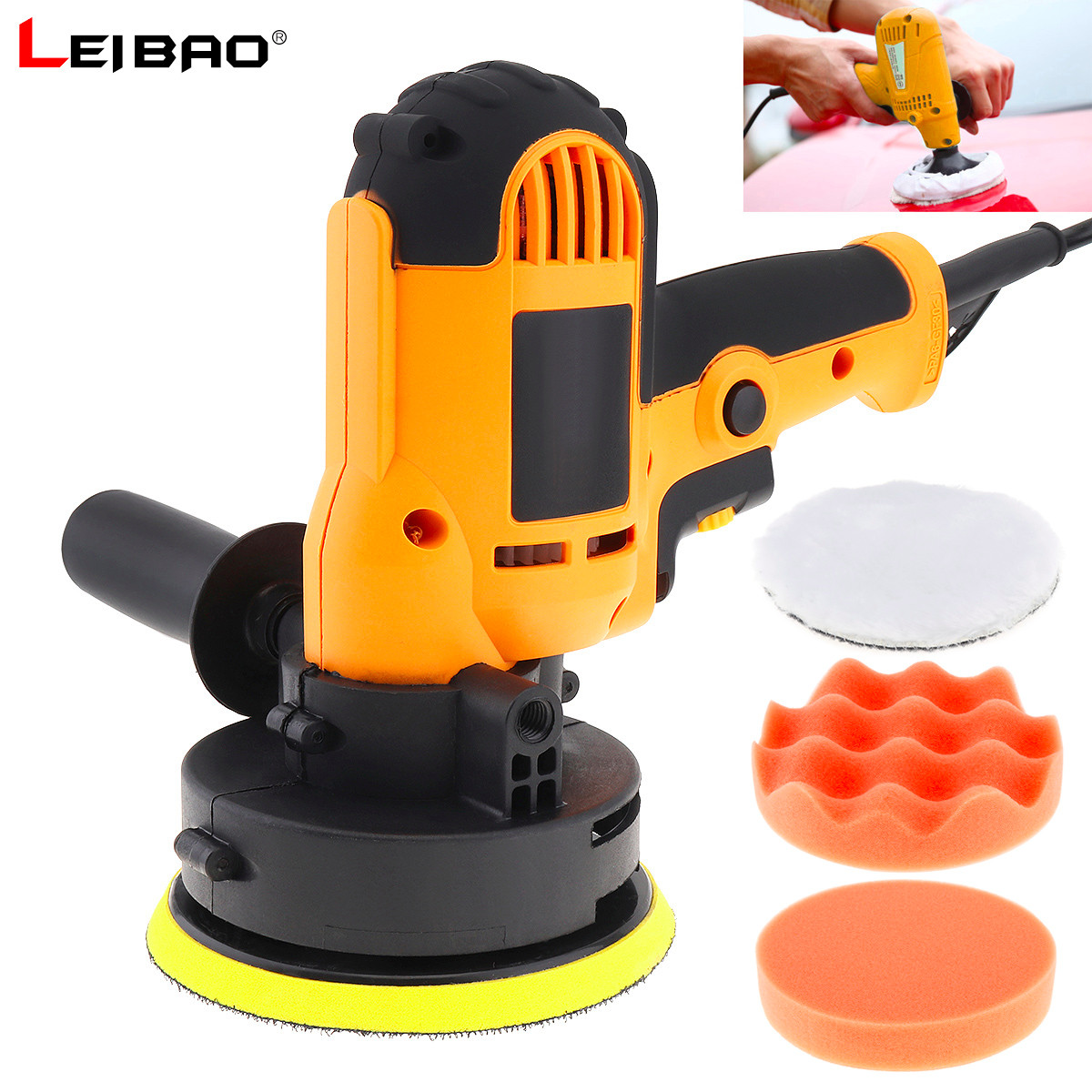 220V 700W Electric Polisher Floor Scratch Repair Sealing Glaze Waxing Machine Self adhesive Sanding Disc for