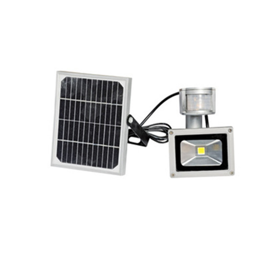 10W solar power pir Infrared Motion carport security High brightness led floodlight Outdoor waterproof Garden flood Wall Light
