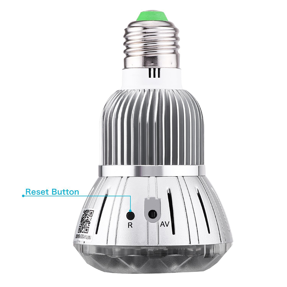 Home Monitoring Bulb Light Wireless IP Camera Wi fi Mini CCTV Surveillance Camera 2MP Home Security