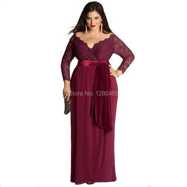 Vestidos de noche para plus size