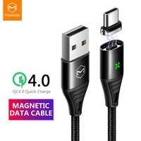 Mcdodo câble USB type C USB C magnétique capable pour Samsung Xiaomi Huawei QC4.0 charge rapide 3A pour HUAWEI USB C chargeur aimant fil