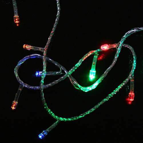 3pcs/lot, Multicolour 100 LED String Light 10M Holiday Decoration Light for Christmas Party Wedding Free Shipping