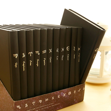2020 Twelve Constellations Planner Diary Taurus Book Gemini Notebook Office Stationery Students Present 19/13 cm