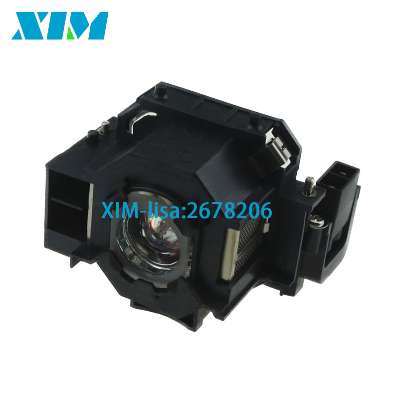 10PCS/Lot ELPLP42 Replacement Projector Lamp with Housing for EPSON EMP-83/EMP-822H / EMP-822 / EMP-400 / EMP-280 /H330B replacement projector lamp elplp32 v13h010l32 for epson emp 750 emp 740 emp 765 emp 745 emp 737 emp 732 with housing