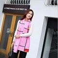 Cobertor de inverno Cachecol Mulheres Xales E Lenços Xadrez Cachecol Feminino Marca De Luxo Cachecol b108