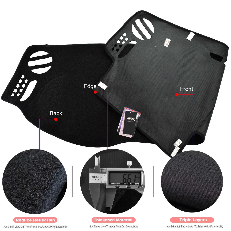 Крышка приборной панели Xukey, пригодная для Land Rover LR2 freelander 2 2007-2014 dashmatt Dash коврик солнцезащитный тент приборная панель покрытие ковер
