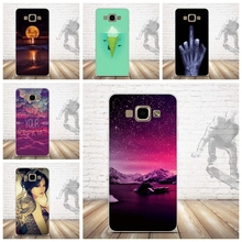 For Samsung Galaxy A5 2015 Case Painting Soft Silicon Back Cover Case for Samsung Galaxy A5