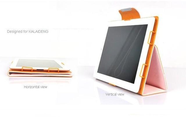 Original KALAIDENG Ultra-thin comfortable Wallet Leather Case for iPad 3 iPad 4