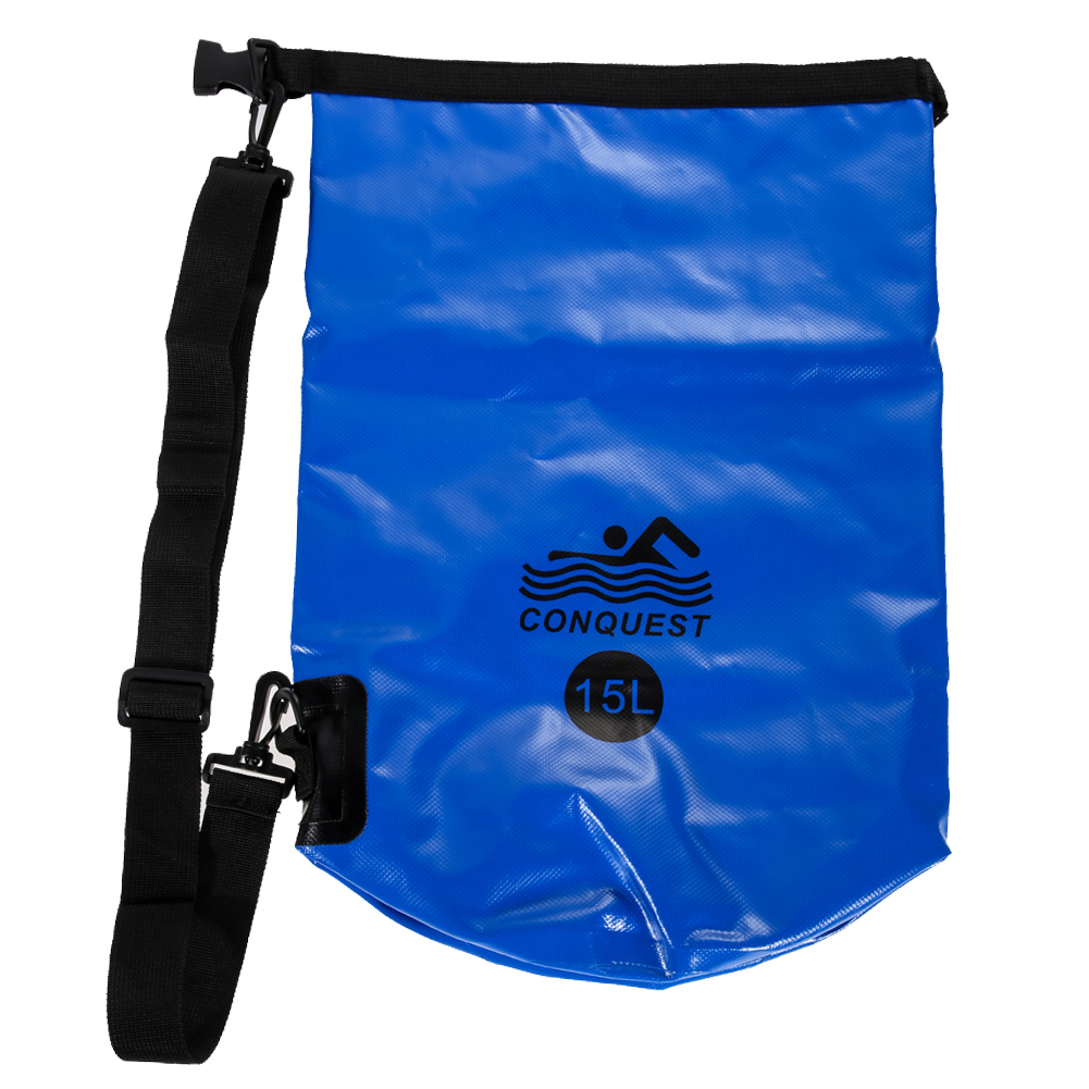 15L Portable WaterResistant Waterproof DryBag Canoe Floating Boating KayakingCamping Swimming Kit Top Quality Outdoor Accessory