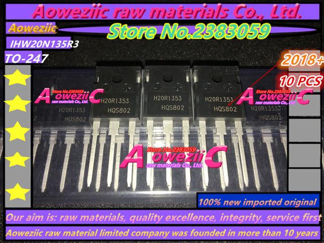 Aoweziic 2018 + 100% новый импортный оригинал H20R1353 IHW20N135R3, силовая трубка IGBT, 1350 в, 20A