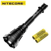 NITECORE MH40GTR LED Flashlight CREE XP L HI V3 LED 1200 Lumen 1004M Hunting Search Torch Flashlight by 18650 Battery