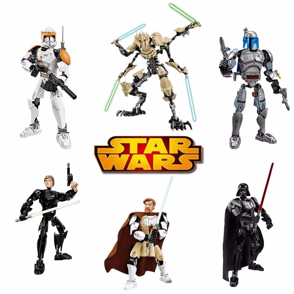 Nuevo KSZ Star Wars diy figuras Darth Vader White Storm Trooper ...