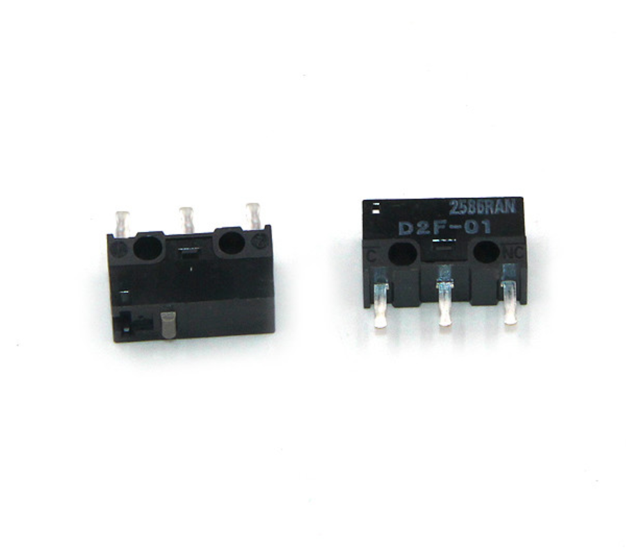 Free shipping 100pcs lot New original OMRON stroke switch limit switch Micro switch D2F 01 Mouse