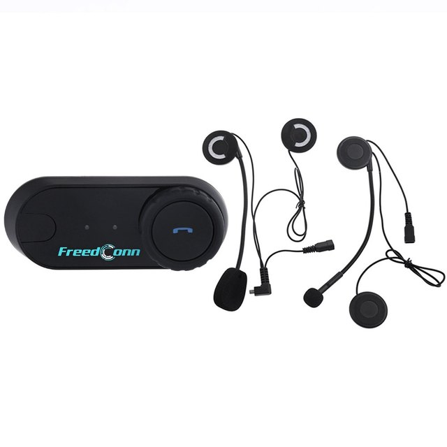 Motorcycle Motorbike T - COM02S Helmet Intercom Headset with DPS Echo Cancellation Technology Water-resistant Interphone