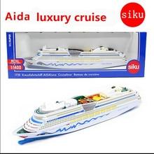 Круиз модель сплав высокой моделирования SIKU-U 1720 роскошный круиз игрушки, литье металла, детские развивающие игрушки, бесплатная доставка