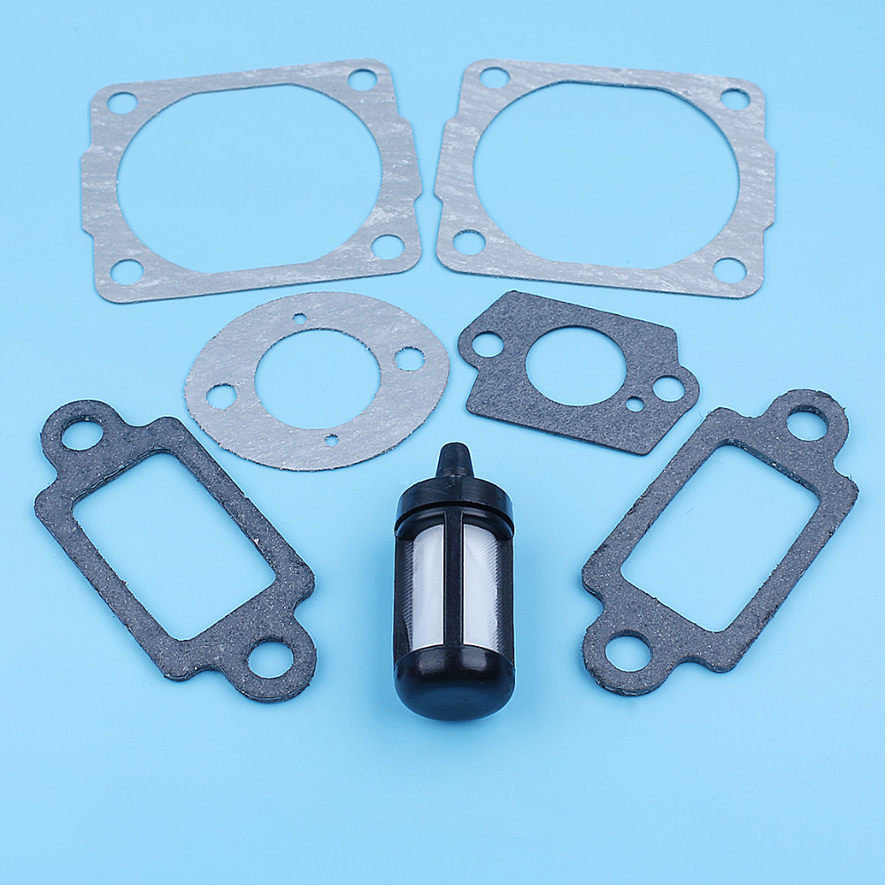 Cylinder Head Base Muffler Carb Gasket Kit For Stihl 024 MS240 026 MS260 028 Chainsaw 1118 029 2306, 1118 149 0600