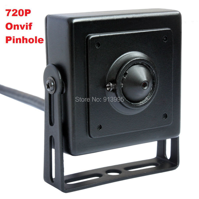 ФОТО 1.0megapixel Endoscope Cctv Camera Super Mini 40*40mm 720p Hd Ip Camera 3.7mm lens  with power adapter  ELP-IP1891-P