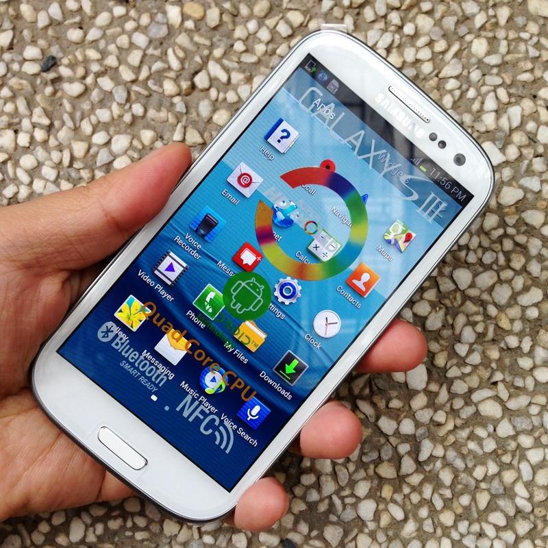 Téléphone portable d'origine SAMSUNG Galaxy S3 i9300 S III débloqué 3G Wifi 8MP téléphone Android-in Mobile Téléphones from Téléphones portables et télécommunications on AliExpress - 11.11_Double 11_Singles' Day 1