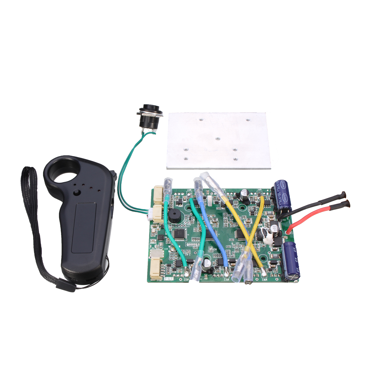 Dual Motors Electric Four-Wheel Skateboard Longboard Brushless Motor Control Module ESC+ Remote ControlDual Motors Electric Four-Wheel Skateboard Longboard Brushless Motor Control Module ESC+ Remote Control
