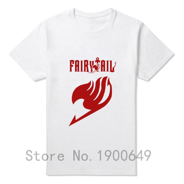 Fairytail O Neck Man Cotton Shirt